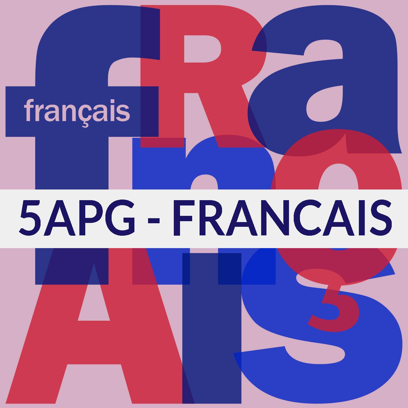 5APG-français course image