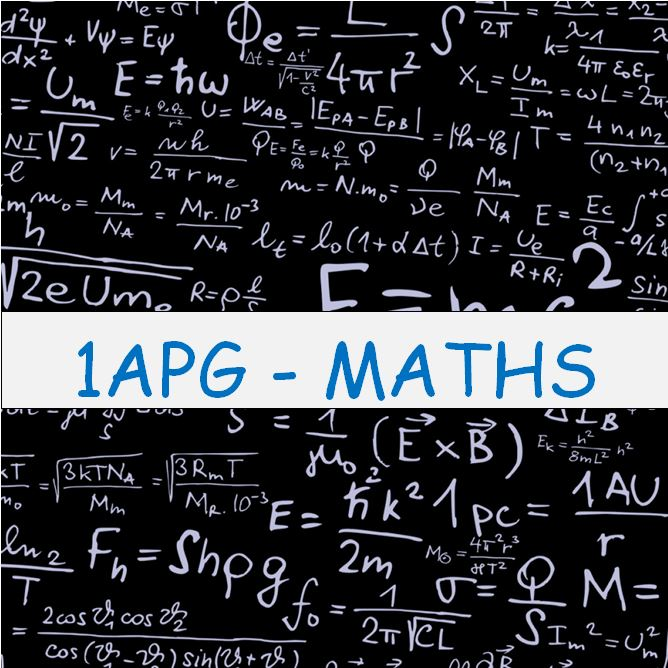 1APG-MATHS course image