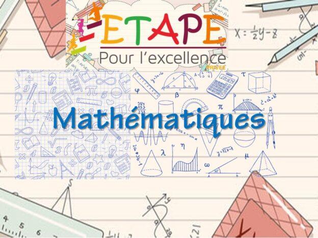 1AC-Mathématiques course image